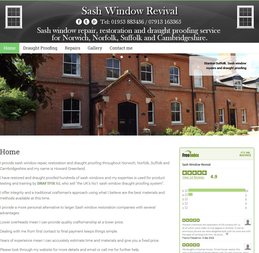 Sash Window Revival