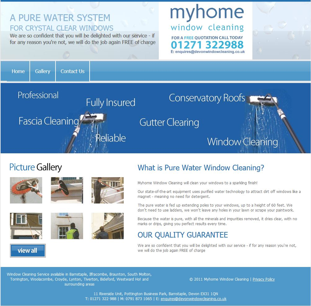 Myhome Window Cleaning